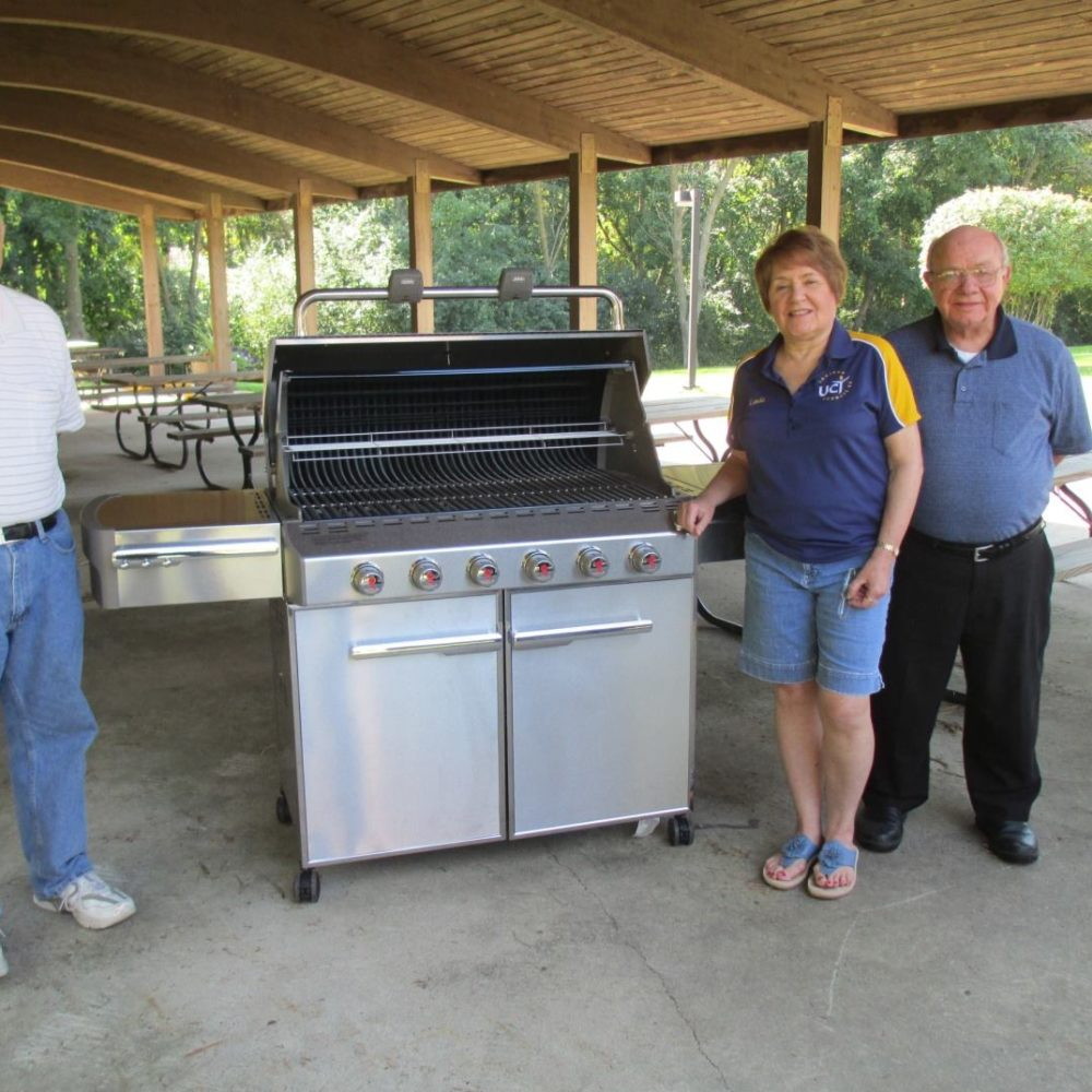 United Commercial Travelers Donate New Grill