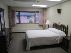 Community Village refurbished rooms